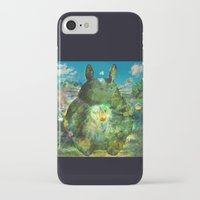 calcifer iPhone & iPod Cases featuring best neighbor  by ururuty