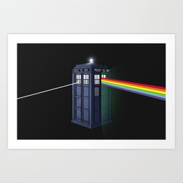 The Dark Side of the Booth Art Print