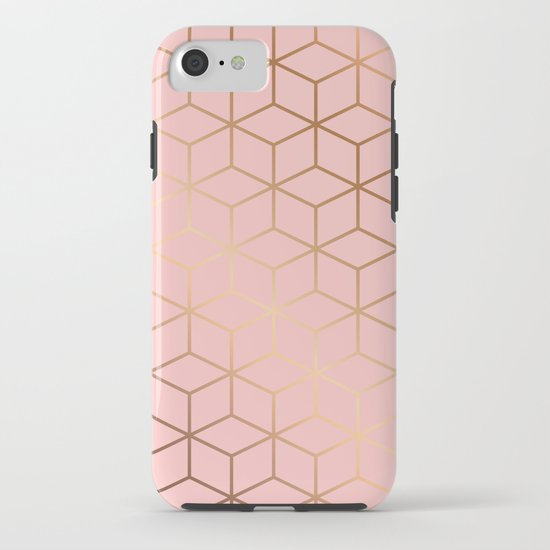 Pink and Gold Geometry 011 by bluelela