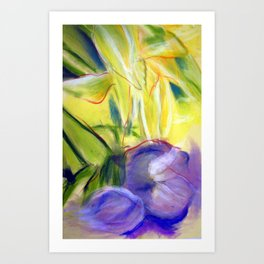 Rectory Series: Lily Art Print