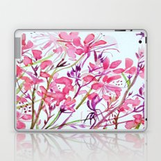 Butterfly Flowers Laptop & iPad Skin