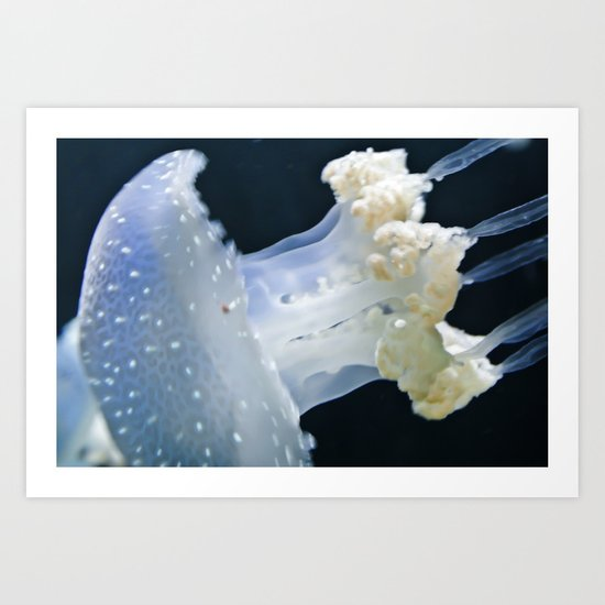Jelly going fast Art Print