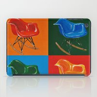 eames iPad Cases featuring Eames Rocker  by Redeemed Ink by - Kagan Masters