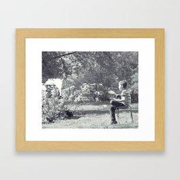 Young Composer Framed Art Print