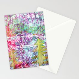 Mystical Mountains Stationery Cards