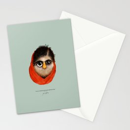 """We realize the importance....""(Malala Yousafzai 2013 ) Stationery Cards"