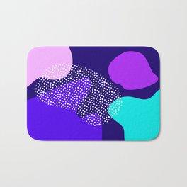 Darkness abstract pattern Bath Mat