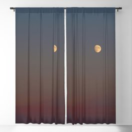 Sunset Moon Blackout Curtain