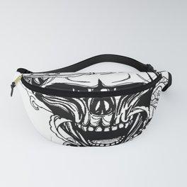 Skull wreath, custom gift design Fanny Pack