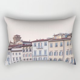 Arno Sunset - Florence Italy Architecture, Travel Photography Rectangular Pillow