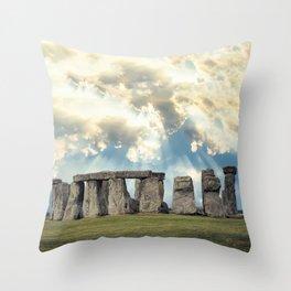 Stonehenge V Throw Pillow