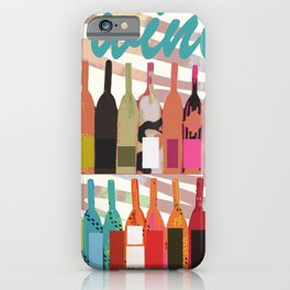 Lisa Wine iPhone Case
