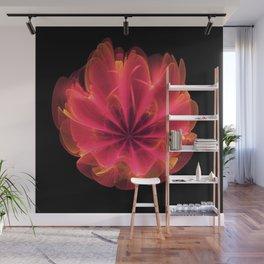 Reddish Orange Rose Wall Mural