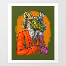 He Heard You Art Print