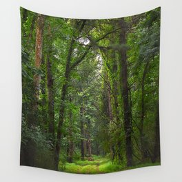 THE EMERALD PATH Wall Tapestry
