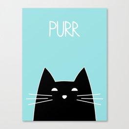 Purr Canvas Print
