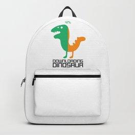 Downloading Dinosaur Backpack