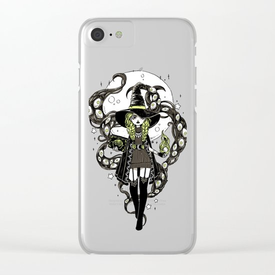 Walpurgis Night Clear iPhone Case