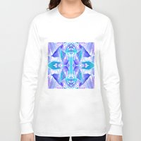 crystal Long Sleeve T-shirts featuring Crystal by Cs025