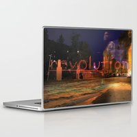 revolution Laptop & iPad Skins featuring Revolution by Stacey Cat