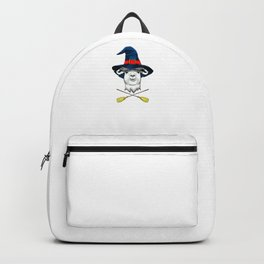 Witch Llama, It's Show Time Funny Halloween Horror Scary Backpack