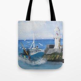 The Brixham Trawler Tote Bag