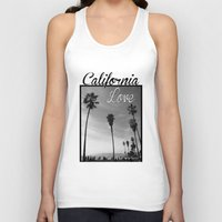 2pac Tank Tops featuring California Love  by Gold Blood