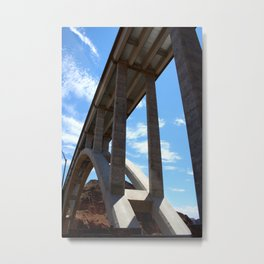 By the Hooverdam  Metal Print