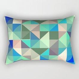 Geometric cold patttern Rectangular Pillow