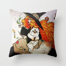Potions Class Throw Pillow