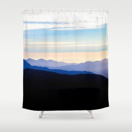 California Sunrise Shower Curtain