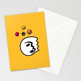 Halloween series - Popping Ghosts Stationery Cards