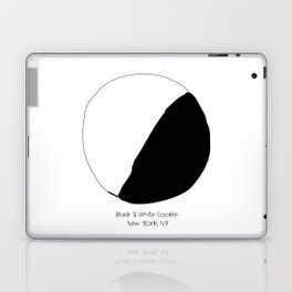 Black and White Cookie New York Laptop & iPad Skin