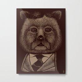 """Teddy"" Roosevelt Metal Print"