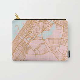 Dubai map, United Arab Emirates Carry-All Pouch
