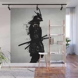 Armored Samurai Wall Mural