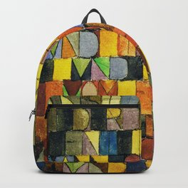 Paul Klee Once Emerged from the Gray of Night Backpack