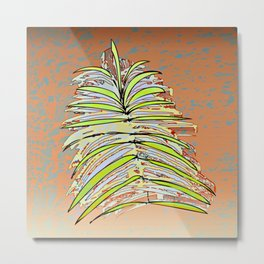Palm Leaf Fosil / Nature 08-12-16 Metal Print