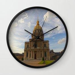Dome des Invalides Wall Clock