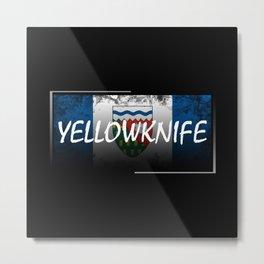 Yellowknife Metal Print