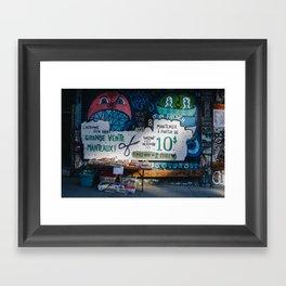 MONTREAL 1 Framed Art Print