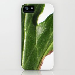 Ivy leaf iPhone Case