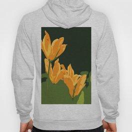 Orange Tulips Hoody