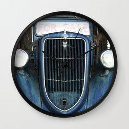 Antique Truck Show Wall Clock