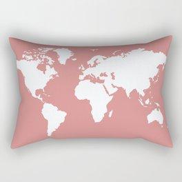 Pink Elegant World Rectangular Pillow