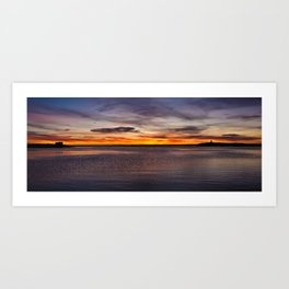 Beautiful morning. Art Print