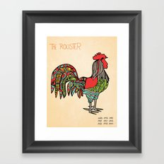 The Rooster Framed Art Print