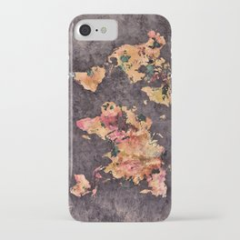 world map 68 iPhone Case