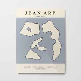 Modern poster - Jean Hans Arp -Exposition 2. Metal Print