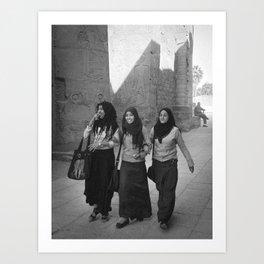 Luxor - Egypt Art Print